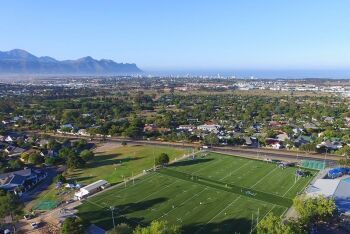 Somerset West, looking towards Strand and Gordon's Bay