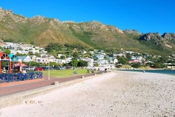 Gordon\'s Bay beach, Cape Town