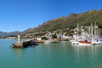 Gordon\'s Bay marina, Cape Town