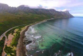 Kogel Bay is located between Gordon's Bay and Rooi Els